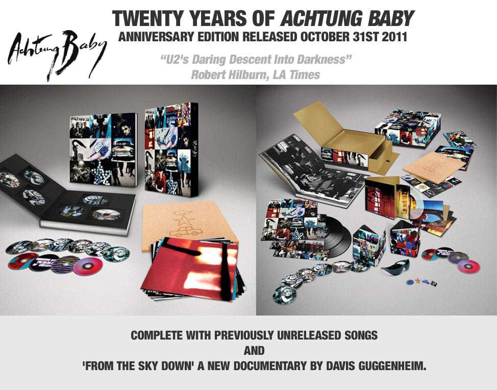 Achtung Baby Anniversary Edition